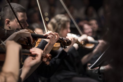 Orkester - lede i kor